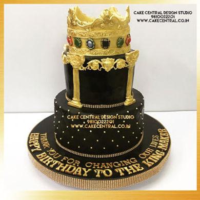 Royal King Crown Cake in Delhi Online