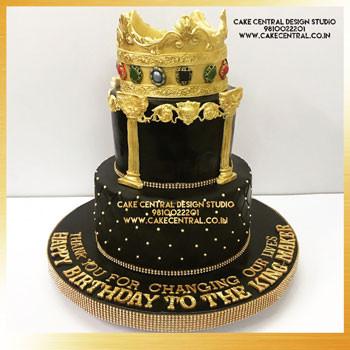 50th Birthday Cake Design for Men in Delhi