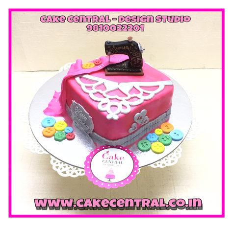 Tailor Cake & Fashion Designer Birthday Cake