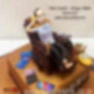 3D Designer Birthday Cakes for Men of Cake Central Design Studio - Man on Sofa Cake in Delhi