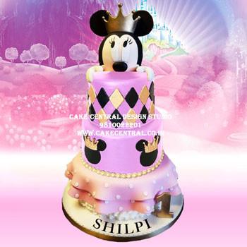 Minnie Mouse Princess Cake Delhi