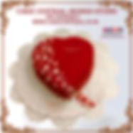 Love & Romance theme Heart Shaped Cakes in Delhi Online