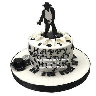 michael jackson birthday cake design in Delhi