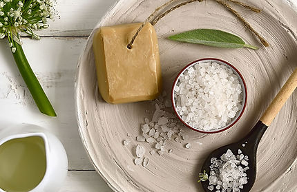 Bath Salts and Soap