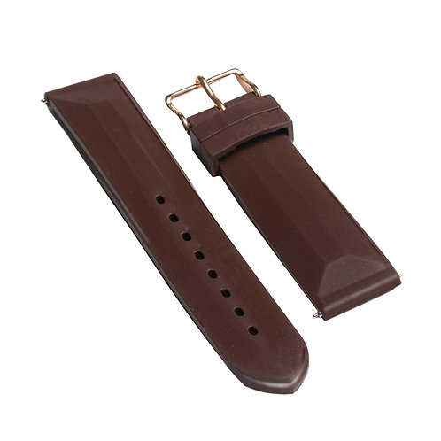 Brown - Silicone Strap