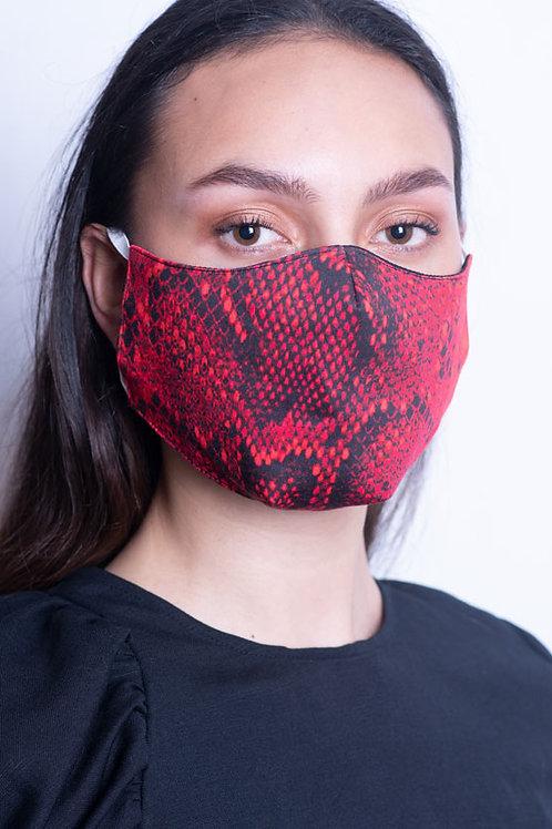 Red Snake Mask