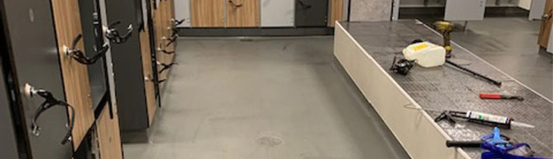 Blocked Drain in Sports Centre