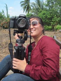 Filming in Ban Vinai