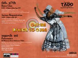 Orisha : Africa to Cuba