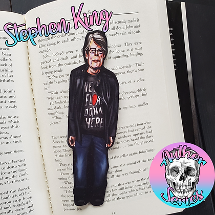 Author Series - Stephen King - Double Sided Bookmark