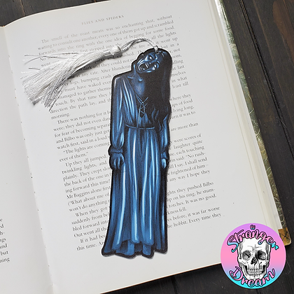 Bent Neck Lady - Double Sided Bookmark