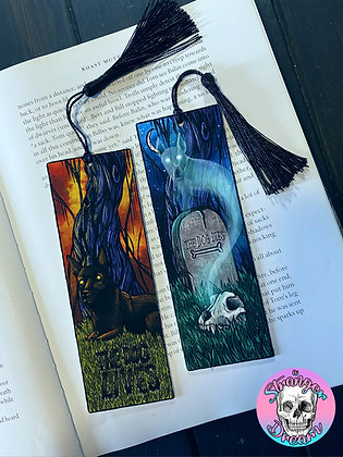 Does the Dog Die Pod - Double Sided Bookmark