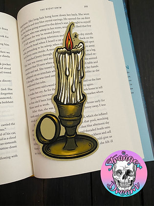 Candlestick - Double Sided Bookmark