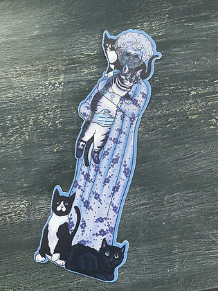 Clearance! Cat Lady Stew - Double Sided Bookmark