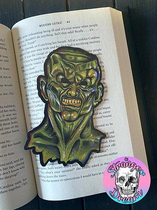 Haunted Mask  - Double Sided Bookmark
