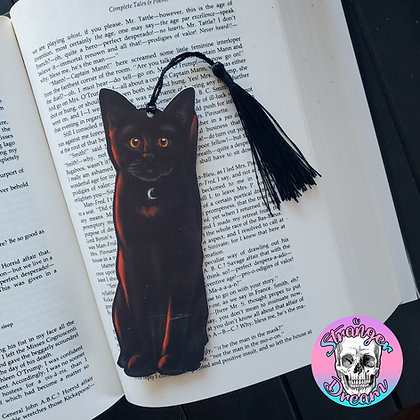 Black Cat - Double Sided Bookmark