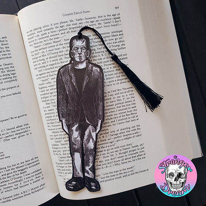 Frankenstein - Double Sided Bookmark