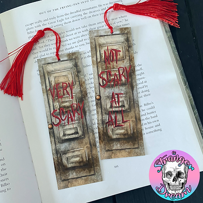 Doors - Double Sided Bookmark - Two Different Sides!