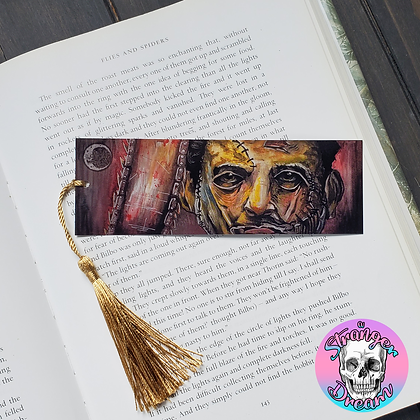 Leatherface - Double Sided Bookmark