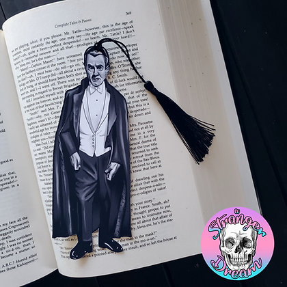 Dracula - Double Sided Bookmark