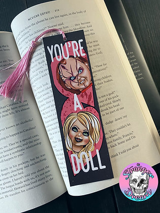 Valentine's Series - You're A Doll - Double Sided Bookmark