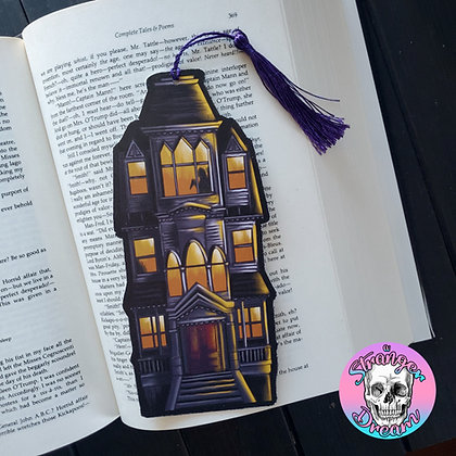 Haunted House - Double Sided Bookmark