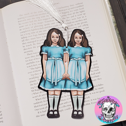 Come Play With Us - Double Sided Bookmark - Two Different Sides
