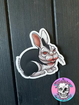 """Bunnicula 3"""" Matte Sticker"""