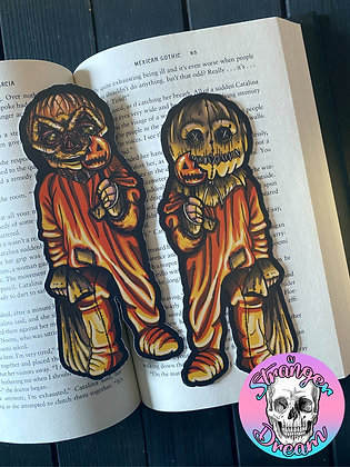 Sam - Double Sided Bookmark - Two Different Sides!