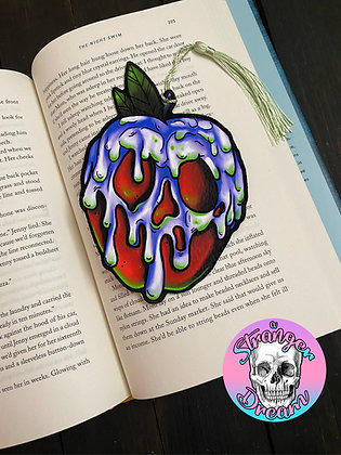 Poison Apple - Double Sided Bookmark with Tassel