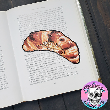 Nico Bell's FOOD FRIGHT - Double Sided Bookmark