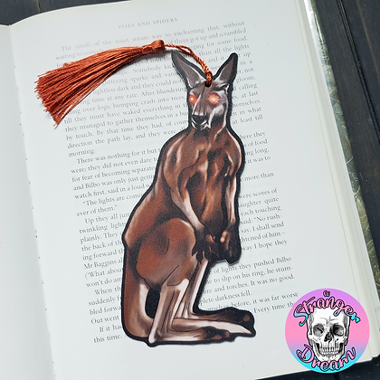 Alan Baxter's The ROO - Double Sided Bookmark