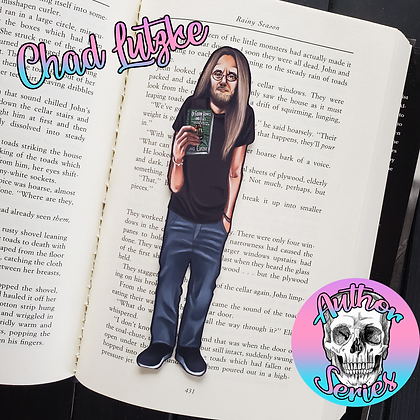 Author Series - Chad Lutzke - Double Sided Bookmark
