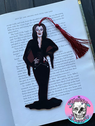 Morticia - Double Sided Bookmark