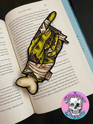 Mummy Hand - Double Sided Bookmark