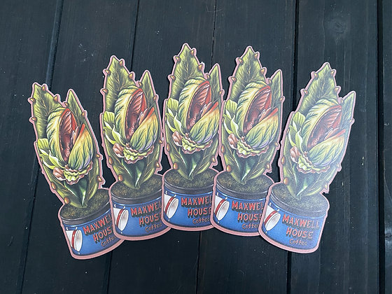 SECONDS! Audrey II - Double Sided Bookmark