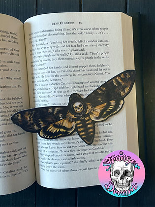 Deathmoth - Double Sided Bookmark