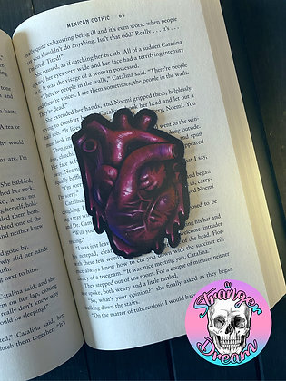 Anatomical Heart  - Double Sided Bookmark
