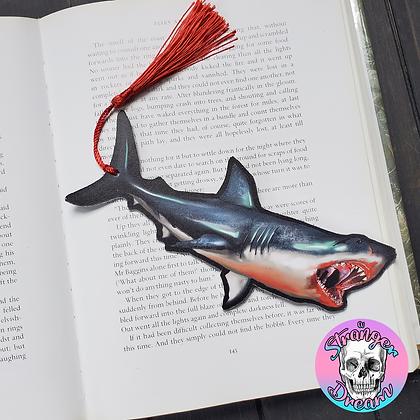 Shark - Double Sided Bookmark