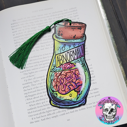 Abnormal Brain - Double Sided Bookmark