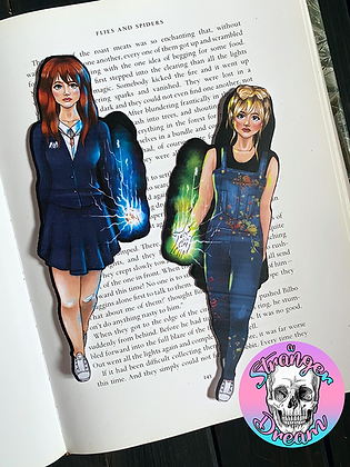 Cat Scully's Jennifer Strange - Double Sided Bookmark - TWO SIDES