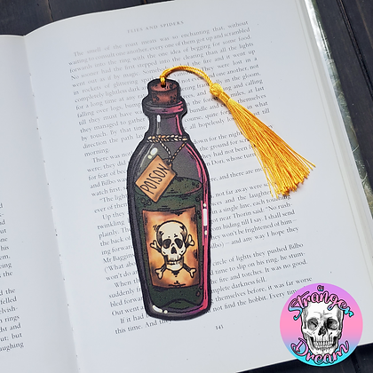 Poison - Double Sided Bookmark