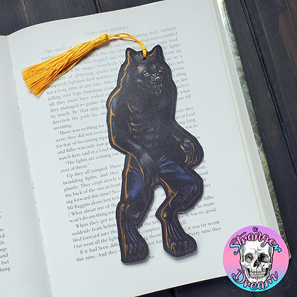 Werewolf - Double Sided Bookmark