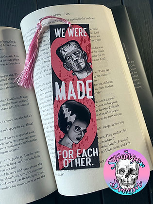 Valentine's Series - Made for Each Other - Double Sided Bookmark