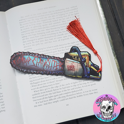Camp Slaughter - Double Sided Bookmark