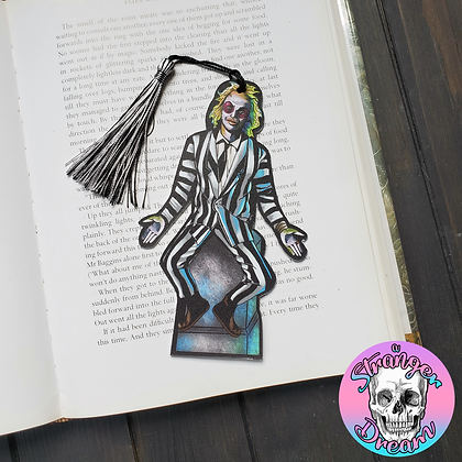 Ghost with the Most - Double Sided Bookmark