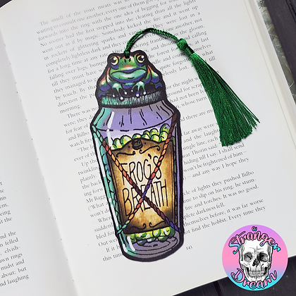 Frog's Breath - Double Sided Bookmark