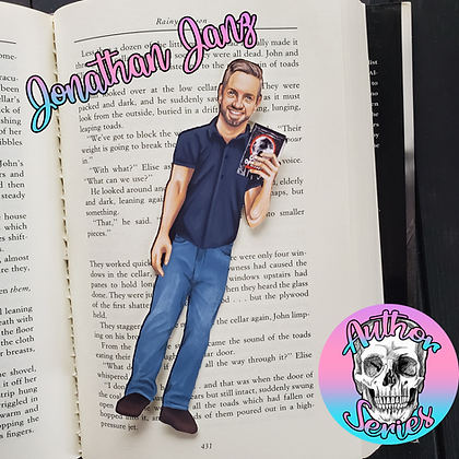 Author Series - Jonathan Janz - Double Sided Bookmark