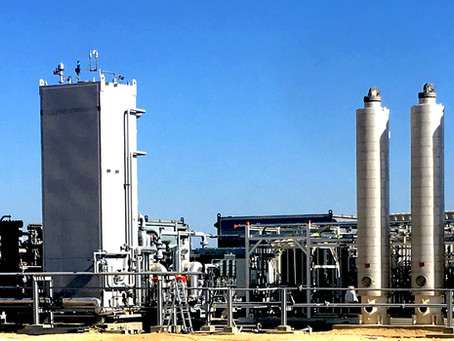 The first small-scale natural gas liquefaction plant for Perú.