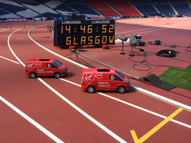 Ford-Vans-in-Virgin-Media-livery-arrive-at-the-Commonwealth-Games